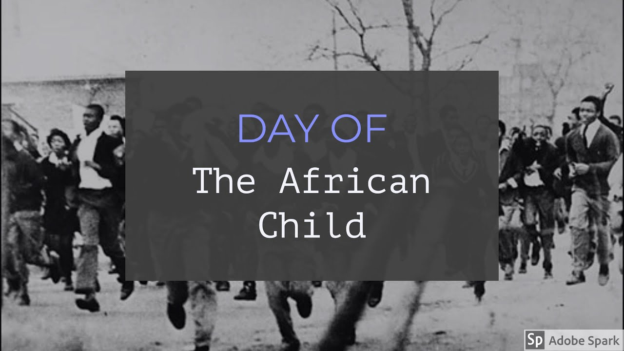 Celebrating the Day of the African Child!