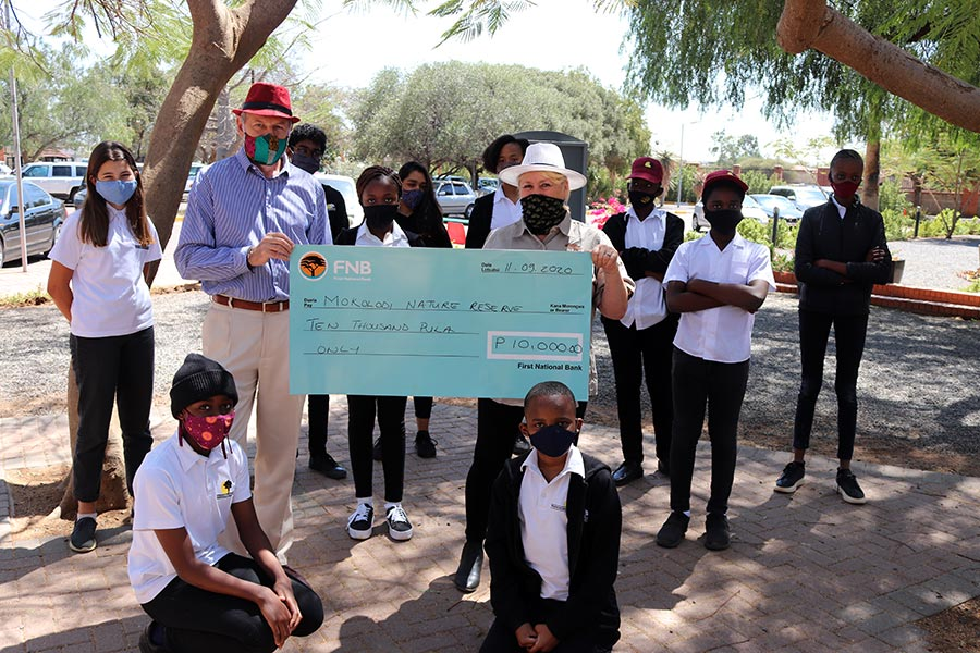 P10,000 to Mokolodi Nature Reserve